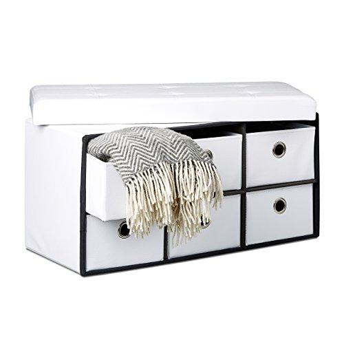 faltbare sitztruhe faltbar. Black Bedroom Furniture Sets. Home Design Ideas