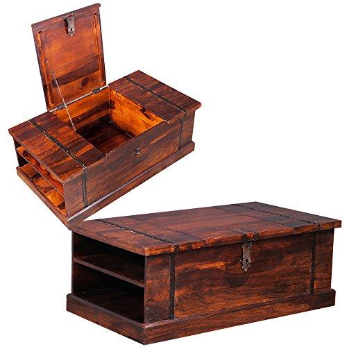 sheesham truhe massiv stabil. Black Bedroom Furniture Sets. Home Design Ideas
