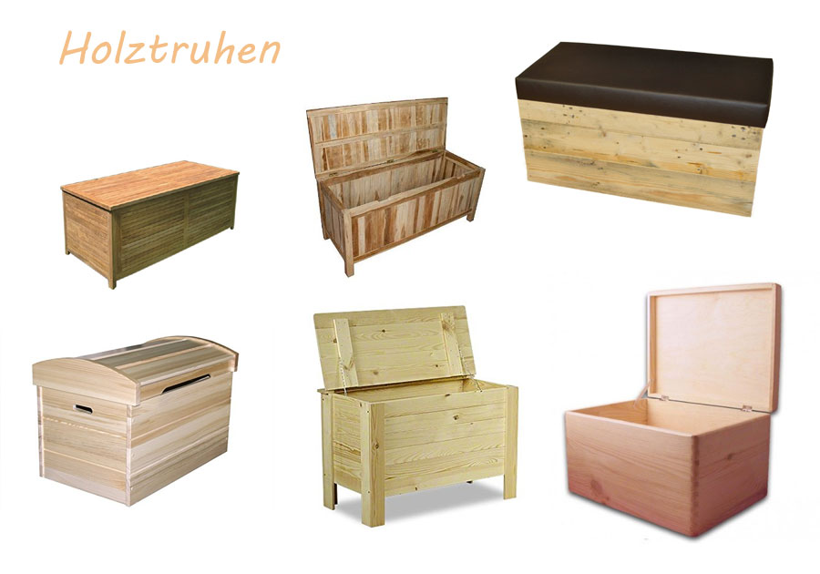 Holz Truhe