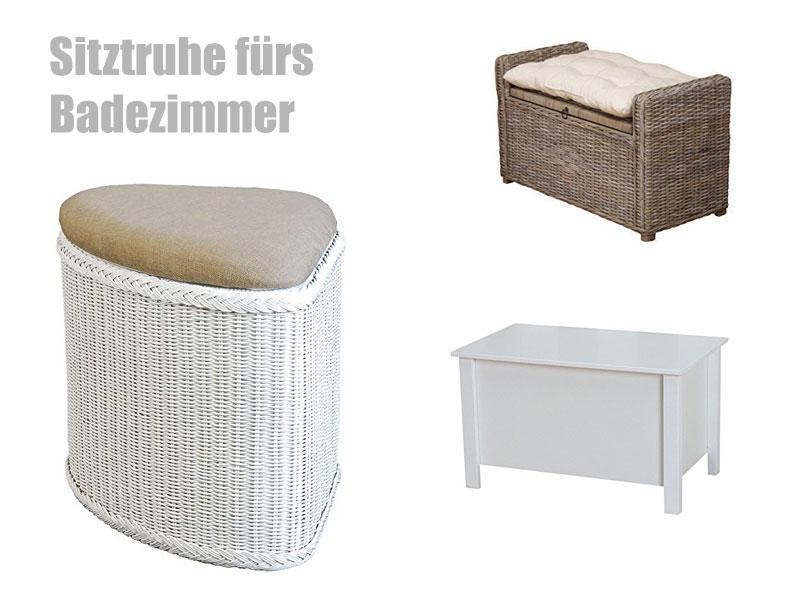 Einzigartig Sitztruhe Wohnzimmer Von Sitztruhe Badezimmer ...